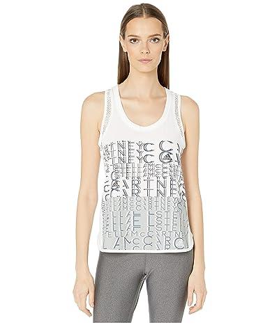 adidas by Stella McCartney Logo Tank EA2601 (White) Women