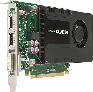 HP 753959-B21 NVIDIA Quadro K2000 2GB - Tarjeta gráfica (NVIDIA, Quadro K2000, 3840 x 2160 Pixeles, 2 GB, GDDR5-SDRAM, 384 Bit)