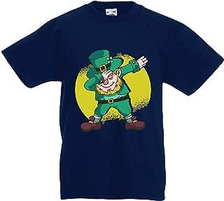 lepni.me Kids T-Shirt Dabbing Leprechaun St. Patricks Day Irish Symbol
