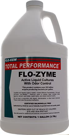 Flo-Kem 5195 Flo-Zyme Commercial Bio-Enzyme Drain Opener/Deoderizer with