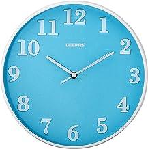 Geepas Wall Clock, Analog - Gwc26014, Multi