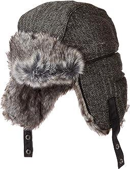 910a24db9ce9c Herringbone. 31. Obermeyer. Trapper Knit Hat w  Faux Fur