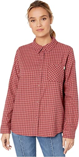 Rose Brown Foraker Plaid