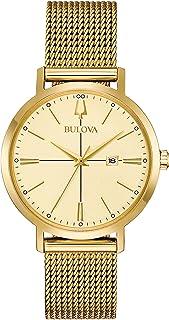 Bulova 97M115 Aerojet Women's Watch Gold 35mm Stainless Steel
