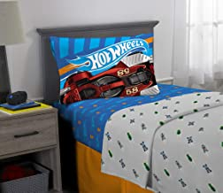 Franco Kids Bedding Super Soft Microfiber Sheet Set, 3 Piece Twin Size, Hot Wheels