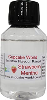 Cupcake World Aromas Alimentarios Intenso Mentol de Fresa Total: 100 ml