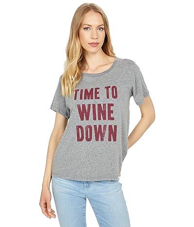 The Original Retro Brand Time To Wine Down Vintage Tri-Blend Tee