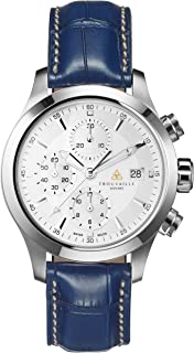 Trouvaille Watches Pilot - White Chronograph