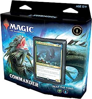 Magic: The Gathering Commander Legends Commander Deck – Reap The Tides | 100 Card..