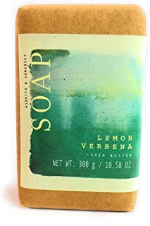 Asquith & Somerset Lemon Verbena Shea Butter Soap 10.58 Oz