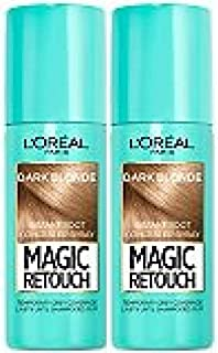 (2 PACK) L'Oreal Paris Magic Retouch Instant Root Concealer donker Blond x 75ml