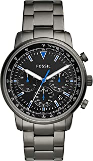 Fossil Men's Goodwin Chronograph Smoke Stainless Steel...