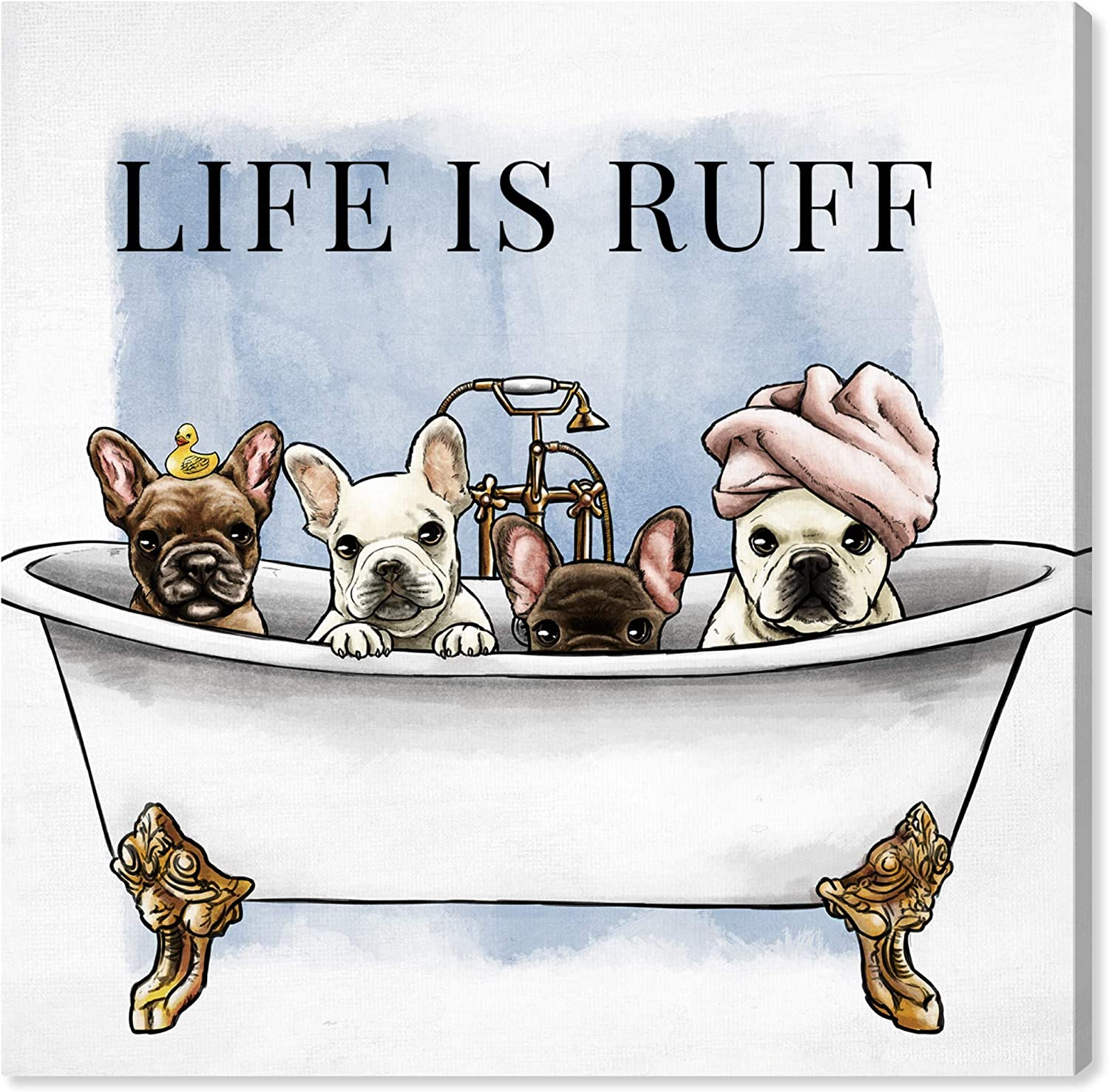 The Oliver Gal Artist Co. Bath Wall Art High quality new is R Canvas Max 45% OFF Prints 'Life