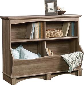 Sauder Harbor View Bin Bookcase, Salt Oak finish