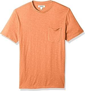 Goodthreads Mens Lightweight Slub Crewneck Pocket T-Shirt