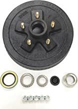 """LIBRA One New 10"""" X 2-1/4"""" Trailer Brake Drum Kit 5 on 4.5"""" B.C. for 3500 Lbs Axle - 22001"""