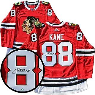 167482517 Frameworth Patrick Kane Signed Jersey Pro Adidas Blackhawks Red 17-18 -  Autographed NHL Jerseys