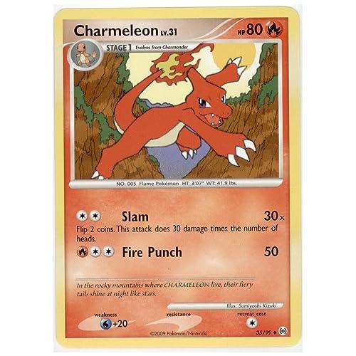 Legendary TreasuresPokemon Card Charmeleon 18//113 UncommonBW
