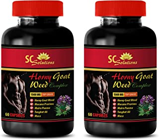 Female Sexual Enhancement Pills - Horny Goat Weed - EPIMEDIUM 1560MG - All Natural Premium Herbal Blend - Promotes Healthy...