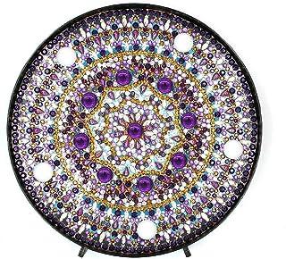 Everpert Diamond Painting Kit LED Luz Decorativa Diamante Pintura Mandala Home Dormitorio Luz Nocturna Escritorio Decoración Luz Nocturna, Zxd032, 150.00 * 150.00 * 35.00