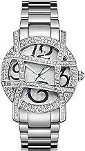 JBW Women's Olympia 0.20 ctw Diamond 18k Gold-Plated Stainless-Steel Watch JB-6214-A