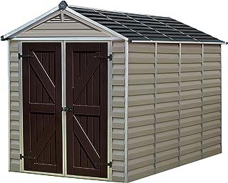 Palram Skylight Storage Shed, 6` x 10`