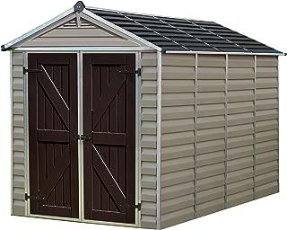 Palram Skylight Storage Shed, 6' x 10'