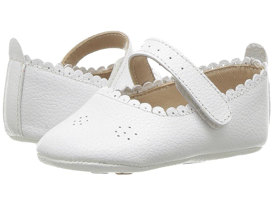 Elephantito Ella Ballet (Infant/Toddler) (White) Girls Shoes