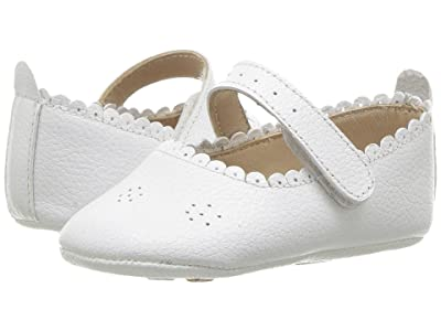 Elephantito Ella Ballet (Infant/Toddler) (White) Girls Shoes