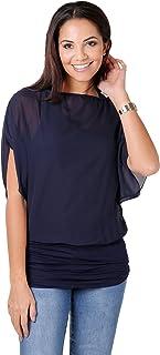 Blusas Camisas Mujer Elegante Grande Top Bonita Fiesta Transparente Juvenil Tallas Grandes Fiesta Moda