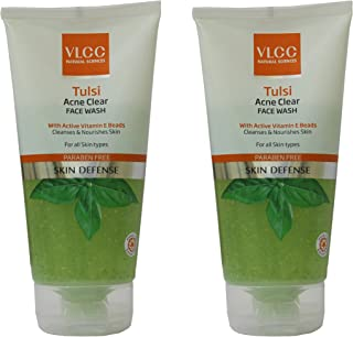 VLCC Tulsi Acne Clear Face Wash Combo (150g*2) (Pack of 2)