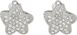 Nina - Starfish Pave Clip Swarovski Earrings