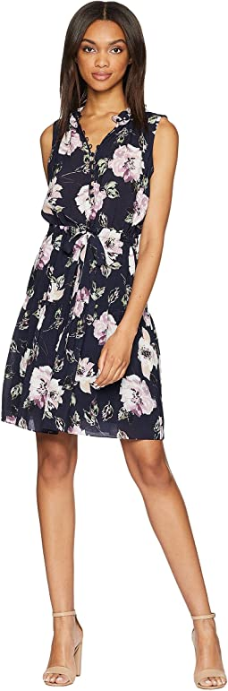 Rebecca Taylor Sleeveless Magnolia Dress