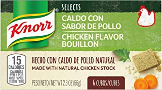 Knorr Selects Soup Base CUBE CHICKEN, 0.17lb(Pack of 6)