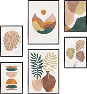 Heimlich® Tableau Décoration Murale - sans Cadres - Set de Poster Premium pour la Maison, Bureau, Salon, Chambre, Cuisine...