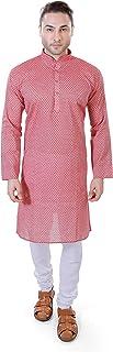 Maharaja Men's Handloom Cotton Kurta Pyjama Set for Men