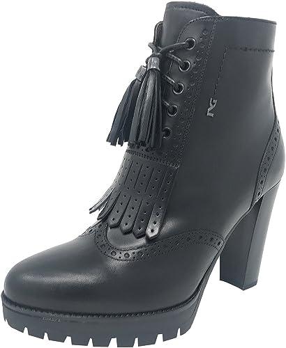 schwarz Giardini A7199340D schwarz, Botines, damen
