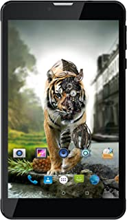 Ikall N4 Tablet (7 inch, 8GB, WiFi + 4G LTE + Voice Calling), Black