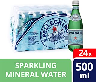 San Pellegrino Sparkling Natural Mineral Water - 500ml (Pack of 24)