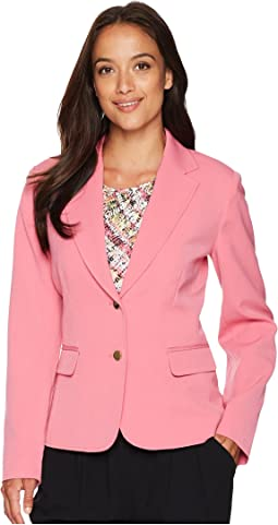 Bi-stretch Two Button Jacket