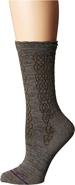 Darn Tough Vermont - Cable Basic Crew Light Socks
