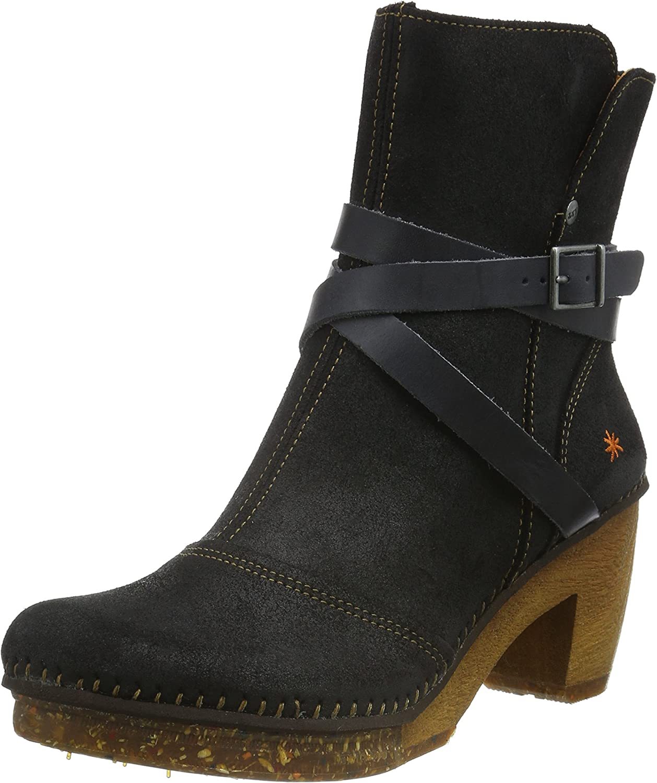 Art Womens 0343 Amsterdam Black Suede Boots 39 EU