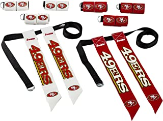Franklin Sports NFL Flag Football Sets - NFL Team Flag Football Belts and Flags - Flag Football Equipment for Kids and Adults