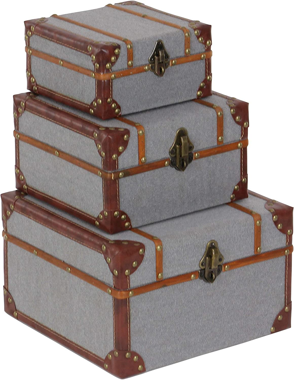 Deco 79 54070 Wood and Burlap Storage of Online limited product x 8