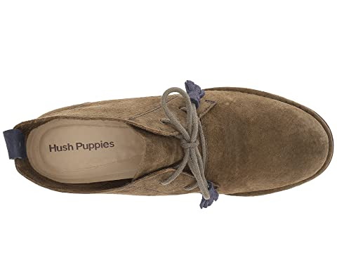 Hush Puppies Cyra Catelyn Dark Olive Suede Outlet Finishline Amazon Cheap Price vCRYqG