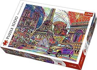 Trefl Colors of Paris Puzzle, 1000 Pieces - 68.3 x 48 cm