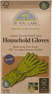 If You Care Household Latex Gloves - FSC Certified - Large, 1 ct