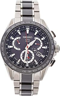 Seiko Astron Quartz (Battery) Silver Dial Mens Watch SSE041 (Certified Pre-Owned)