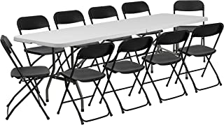 Best collapsible dining table with chairs Reviews