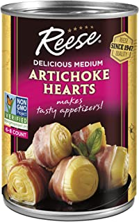 Reese Artichoke Hearts 6-8, 14-Ounce Cans (Pack of 12)